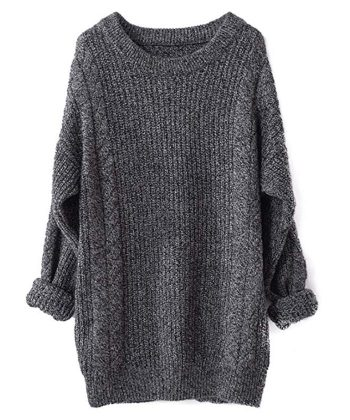 Women Winter Pullover Long Sweater