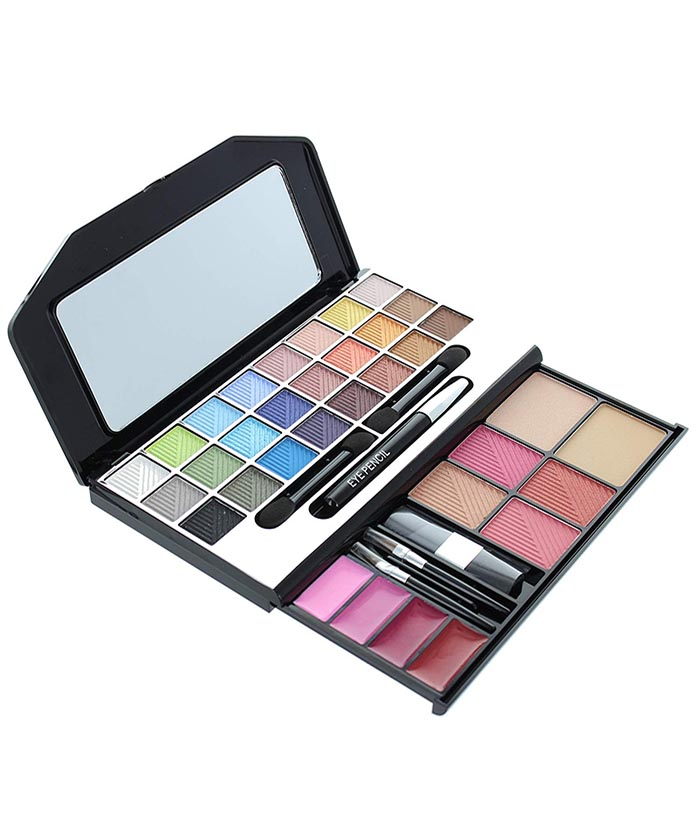 Complete Makeover 34 Colors Kit With Brushes