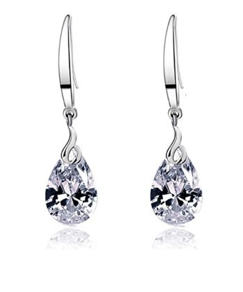 Women Crystal Drop Earrings