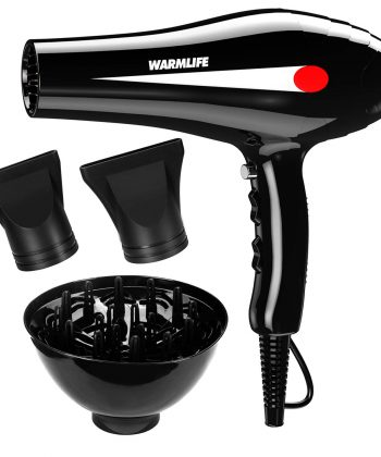 Hair Dryer with Diffuser for Curly Hair